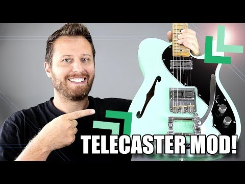 Putting Filtertrons In a Telecaster! - AMAZING Tone!