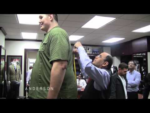 Web Extra: Igor Gets Measured by Tailor