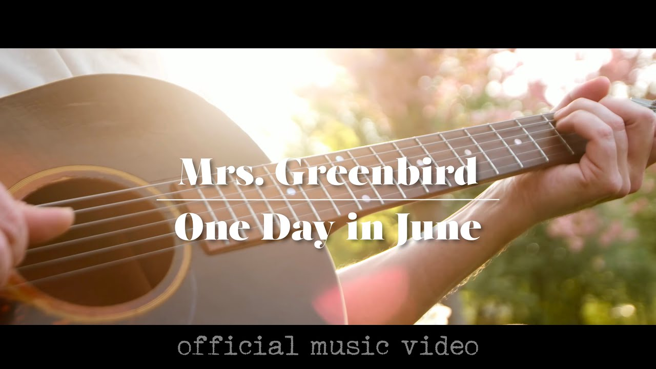 Mrs Greenbird Youtube