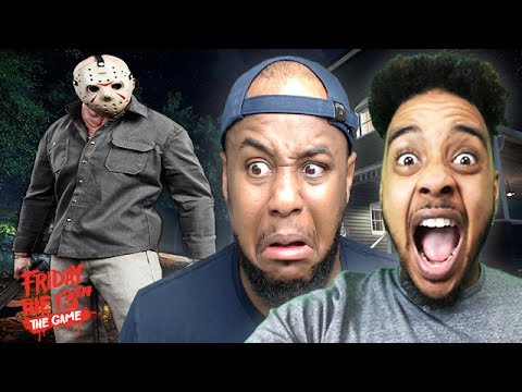 JASON IS COMING FOR US! | Friday The 13th: The Game