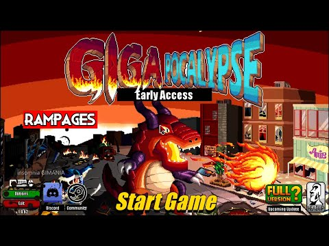 Gigapocalypse | PC Gameplay Early Access |