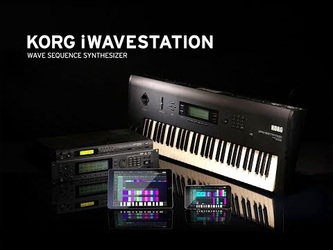 3 Minutes With KORG iWAVESTATION - Ram Card 3 - Demo for the iPad