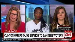 Bernie Sanders Supporter SLAYS Condescending CNN Pundit With Facts