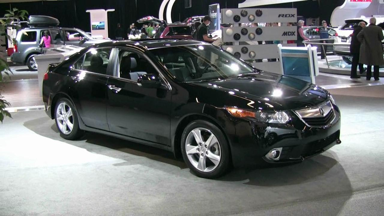 2012 acura tsx exterior and interior at 2012 montreal auto show youtube