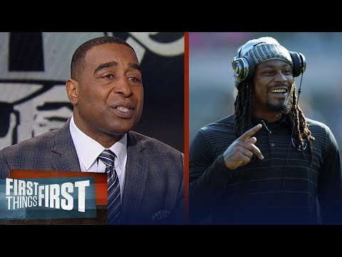 Cris Carter reacts to Jon Gruden's desire to keep Marshawn Lynch and Crabtree | FIRST THINGS FIRST