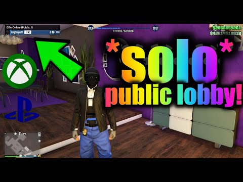 GTA V XBOX & PS4 *SOLO* PUBLIC SESSION! WORKING NOW!! HOW TO GET INTO A SOLO SESSION!