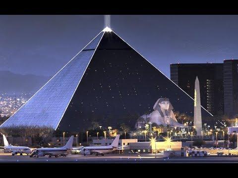 Luxor Resort Hotel Casino Las Vegas Walk Around in HD