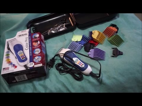 wahl color pro complete haircutting kit what 39 s in the box youtube. Black Bedroom Furniture Sets. Home Design Ideas