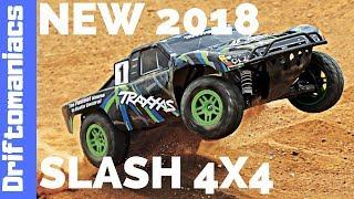 DRIFTOMANIACS - NEW 2018 Traxxas Slash 4x4 Overview