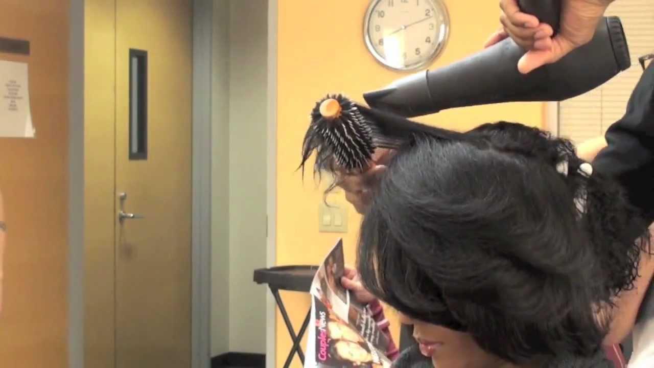 Blowdry Type 4 Hair Youtube