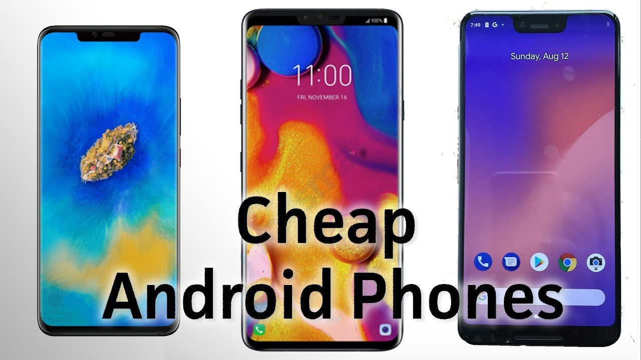 Kết quả hình ảnh cho Android Confidential: 3 reasons why you should buy a cheap Android phone this October