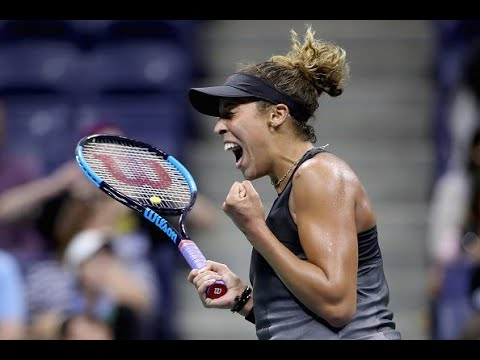 Elina Svitolina battles past Madison Keys in straight sets to reach first US Open quarter-final