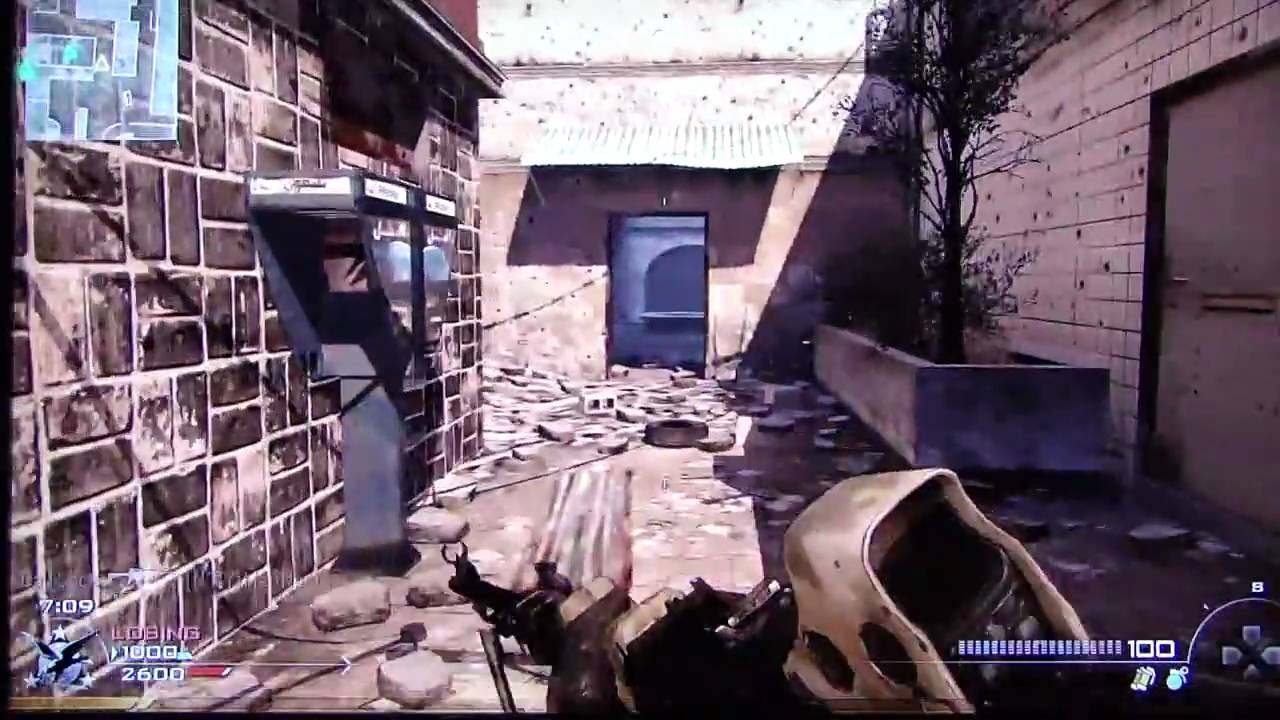 Karachi map of Call of Duty Modern Warfare 2
