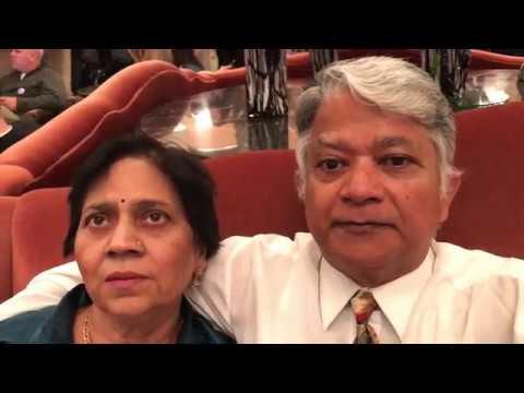 Aruna & Hari Sharma iPhone7Plus Video Omni Shoreham Lobby Washington DC, Nov 16, 2017