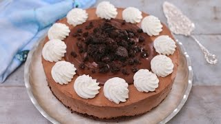 FUDGE BROWNIE CHEESECAKE - Gemma