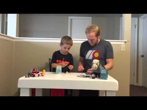 Unboxing Of A Pac-Man Blind Bag And Adventure Time Jake Tin.
