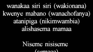 Ya moto Band Niseme Lyrics | Bongo flava