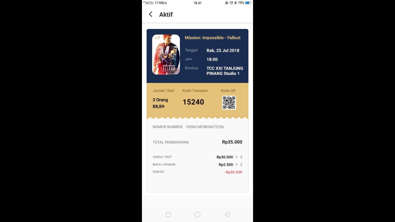 Tix Id Buy 1 Get 1 Free Tiket Bioskop Xxi Youtube