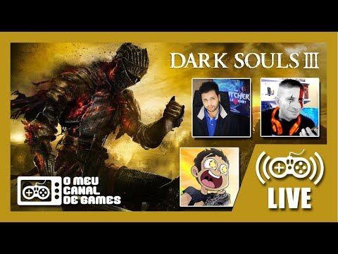 [Live] Dark Souls III (PS4 Pro) - c/ VICTOR KRATOS E LEVI CAFÉ Até Zerar AO VIVO