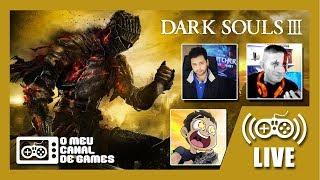 [Live ÉPICA] Dark Souls III (PS4 Pro) - c/ VICTOR KRATOS E LEVI CAFÉ Até Zerar AO VIVO #1
