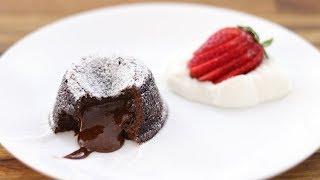 Chocolate Lava Cake Recipe  How to Make Molten Chocolate Lava Cake