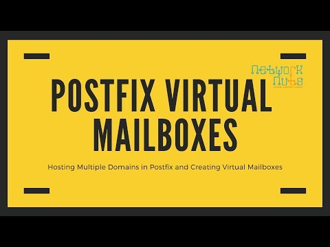 Multiple Domains & Virtual Mailboxes in Postfix Tutorials On