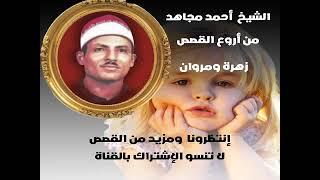الشيخ احمد مجاهد قصة زهرة ومروان