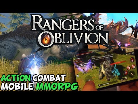 An Actual Decent Mobile MMO - Rangers Of Oblivion