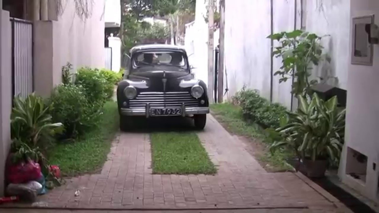 Sri Lanka- Peugeot 203 - YouTube