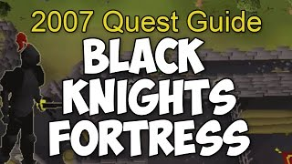 Runescape 2007 Black Knights Fortress Quest Guide