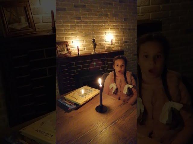 Изображение предпросмотра прочтения – АринаЛабутина читает произведение «Бабушкины сказки» С.А.Есенина