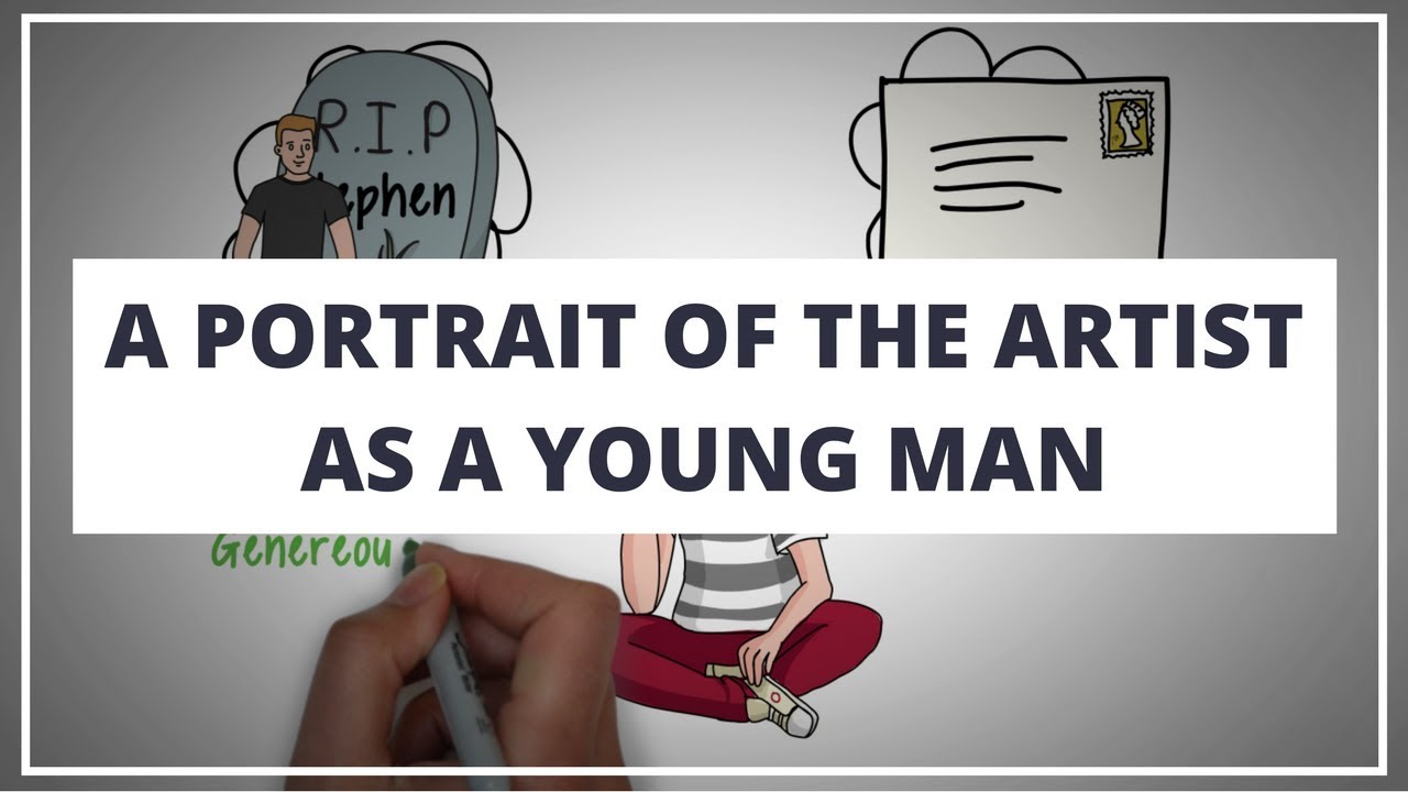 ae844dbe THE PORTRAIT OF THE ARTIST AS A YOUNG MAN PT 1 BY JAMES JOYCE // ANIMATED  BOOK SUMMARY