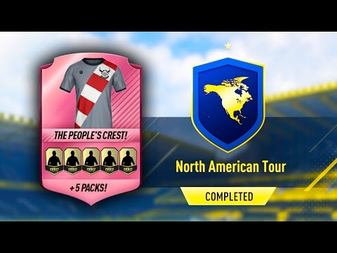 THE PEOPLE'S CREST KIT!! NORTH AMERICAN TOUR SBC (EASY/CHEAP) FIFA 17 ULTIMATE TEAM