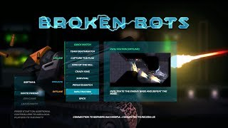 Broken Bots PC gameplay/PC game reviews