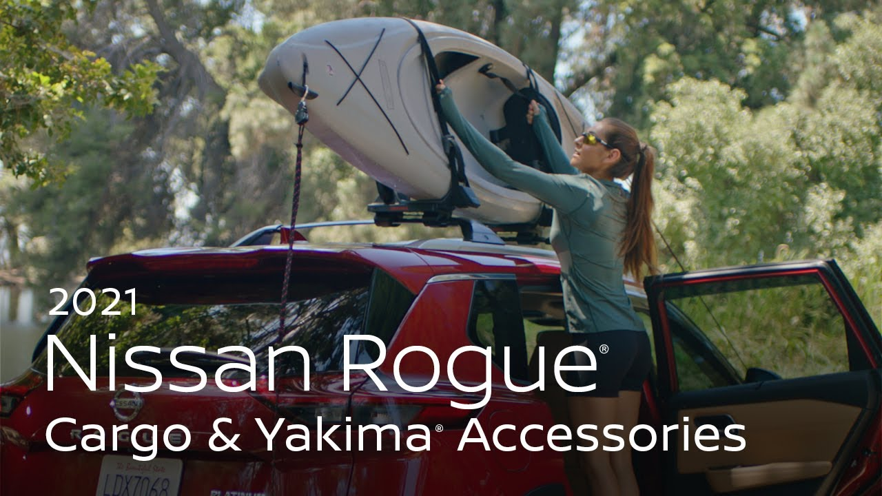 2021 Nissan Rogue Cargo and Yakima® Accessories