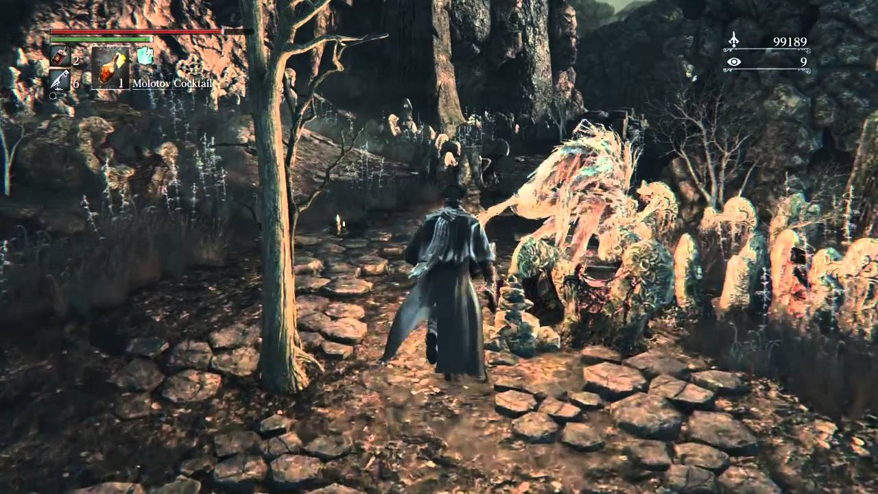 Bloodborne™ Nightmare Frontier Run to Coldblood Flower Bud 2 Chalice Ritual Item PS4 Exclusive