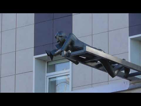 памятник режиссеру, Узнаваемые здания в Великом Новгороде, Новгородское телевидение