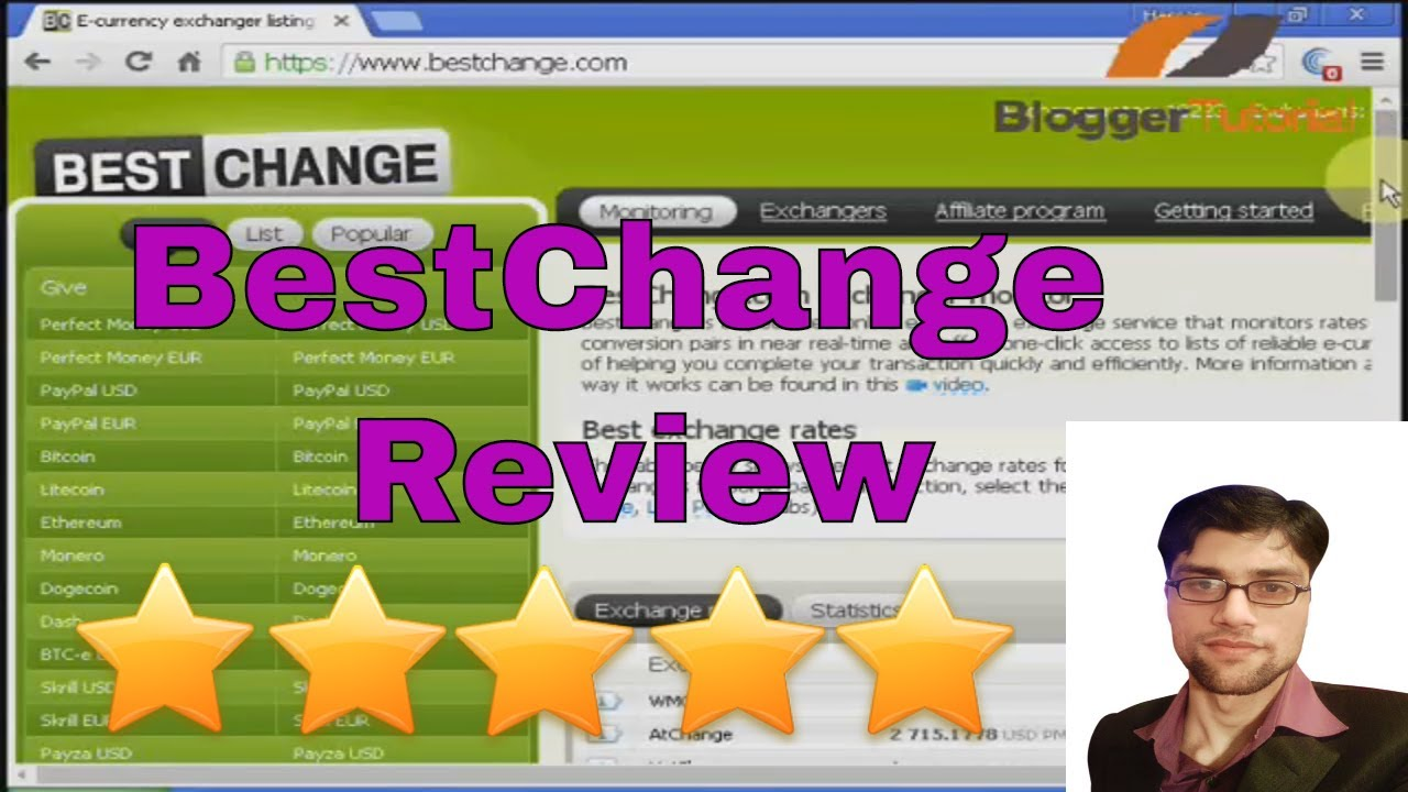 Bestchange Review- Best Affiliate Website - YouTube