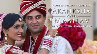 Akanksha Sharma & Maanav Nanda - Cinematic Wedding Day Highlights (Punjabi Hindu)