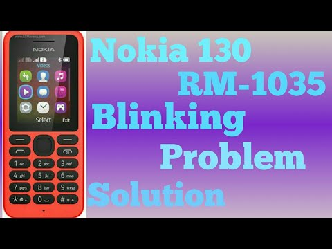 Nokia 130 RM-1035 KEYBOARD BLINKING CONTACT SERVICE 10000% OK FILE