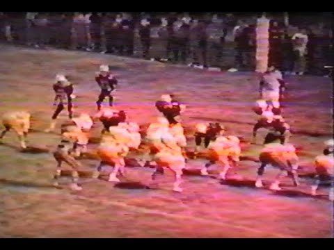Kenston Forest vs Brunswick Academy - Football 1986
