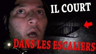 UN ESPRIT FRAPPEUR COURT DANS LES ESCALIERS (Chasseur de Fantômes) [Explorations Nocturnes] HANTE