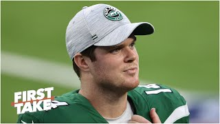 Debating whether the Jets should keep Sam Darnold or take a QB in the 2021 NFL Draft | First Take
