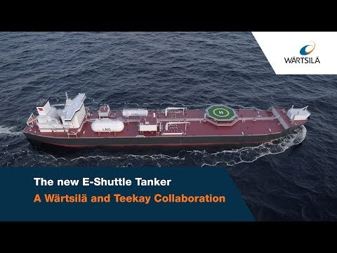 The New E-Shuttle Tanker: The most environmentally friendly shuttle tanker ever | Wärtsilä