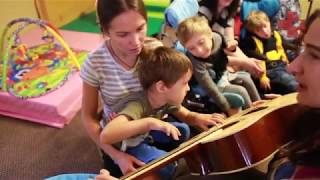 Урок музыки в Елизаветинском садике