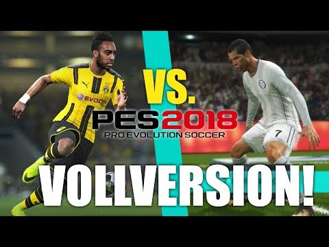 PES 2018 VOLLVERSION GAMEPLAY – Real Madrid vs. Borussia Dortmund – Pro Evolution Soccer 2018