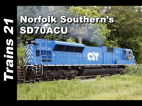 The History of Norfolk Southern's SD70ACU