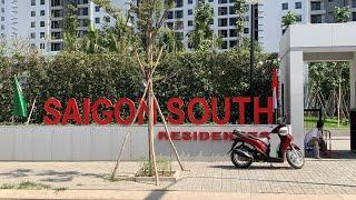 Căn hộ SAIGON SOUTH RESIDENCES SSR - Hiện trạng căn hộ được Chủ đầu tư giao cho khách hàng, CH G2309