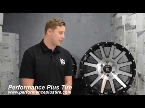 LRG Wheels Type107 Black Machine Rims