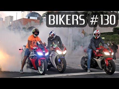 Superbikes BURNOUTS, WHEELIES and LOUD Exhausts! - BIKERS #130